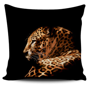Big Cats Pillow Covers (Leopard Profile)