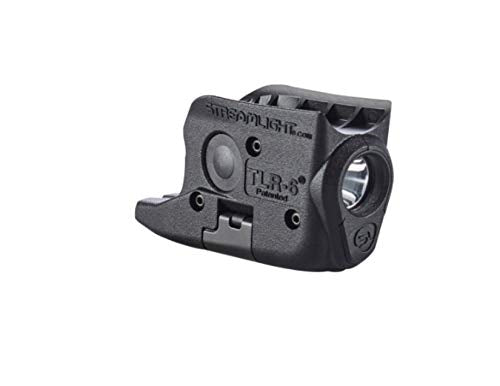 Streamlight 69272 TLR-6 Tactical Pistol Mount Flashlight 100 Lumen with Integrated Red Aiming Laser Designed Exclusively and Solely for Glock 26/27/33, Black