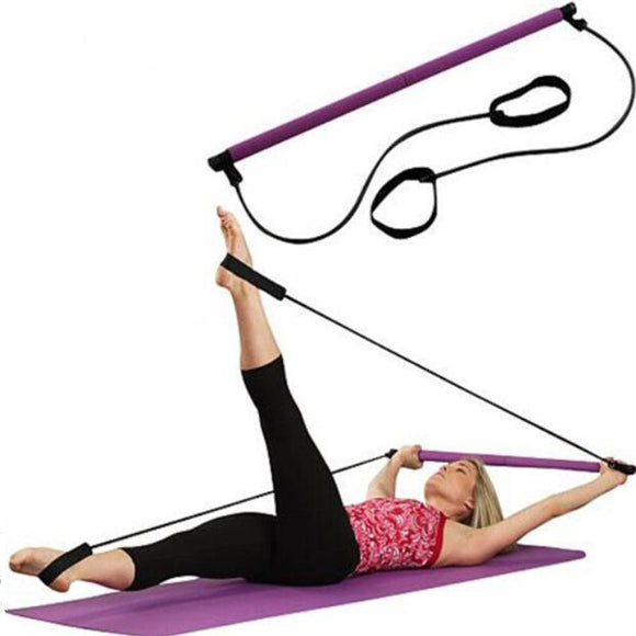 Yoga Spring Exerciser Gym Stick Elastic Rope