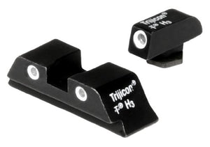 Trijicon GL01 Bright & Tough Night Sight Set for Glock Pistols