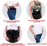 "GoZier Tactical Belly Band Holsters for Concealed Carry ✮ Neoprene Waist Band System ✮ IWB Holder ✮ Free Zip Wallet Included ✮ Fits Up to 45"" Waist ✮ for Men and Women (Standard/Right Hand)"