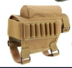 Hunting Gun Accessories Adjustable Rifle Shotgun Tactical Buttstock Cheek Rest Shooting Pad Ammo case Cartridges Holder Pouch