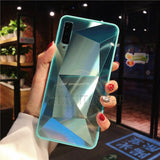 Diamond Mirror Case For A Series