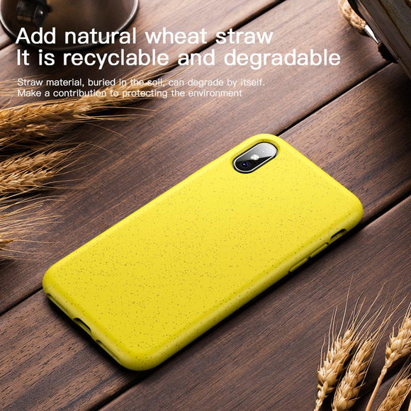 LUPHIE Eco-friendly Silicone Case For iPhone