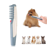 Electric Pet Grooming Brush