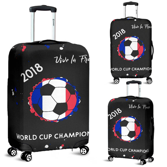 France 2018 World Cup Champions Luggage Covers