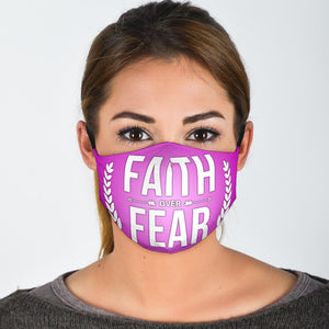 Faith over Fear Purple