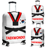 Taekwondo Luggage Covers White