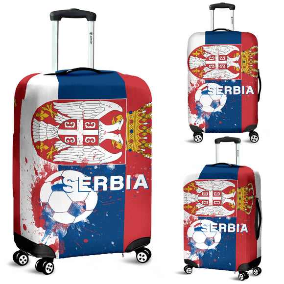 Luggage Covers Serbia Soccer