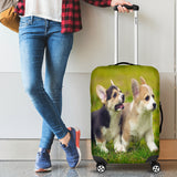 Corgi Dog Luggage Cover