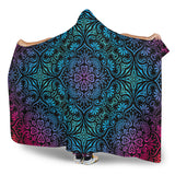 Bohemian Rainbow (Black) - Hooded Blankets