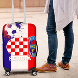 Luggage Covers Argentina Soccer Serbia