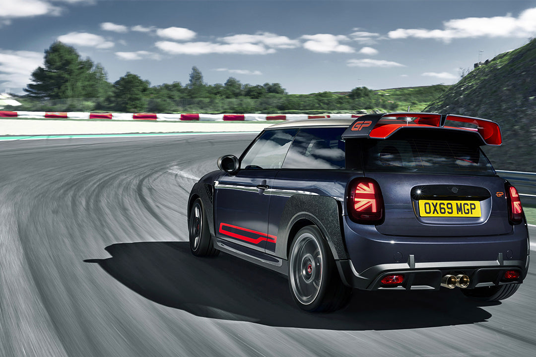 All the aero! MINI gets wicked with it's new JCW GP.