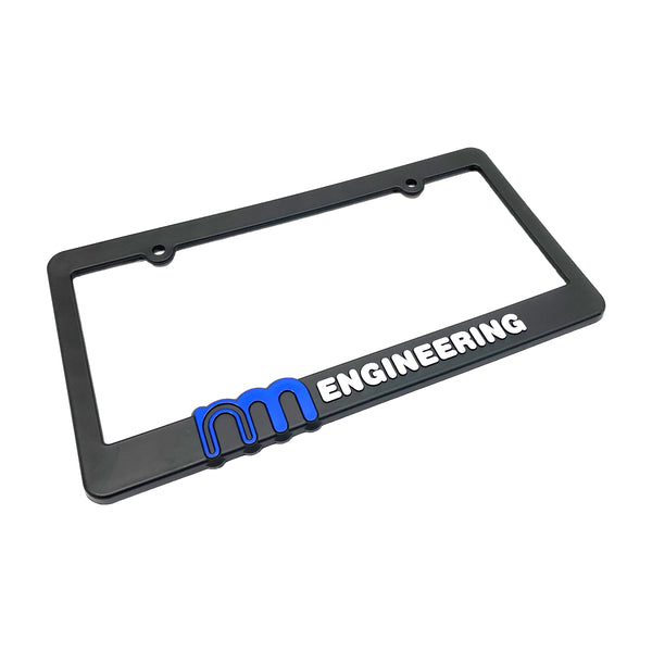 NM Engineering License Plate Frame - NM Engineering