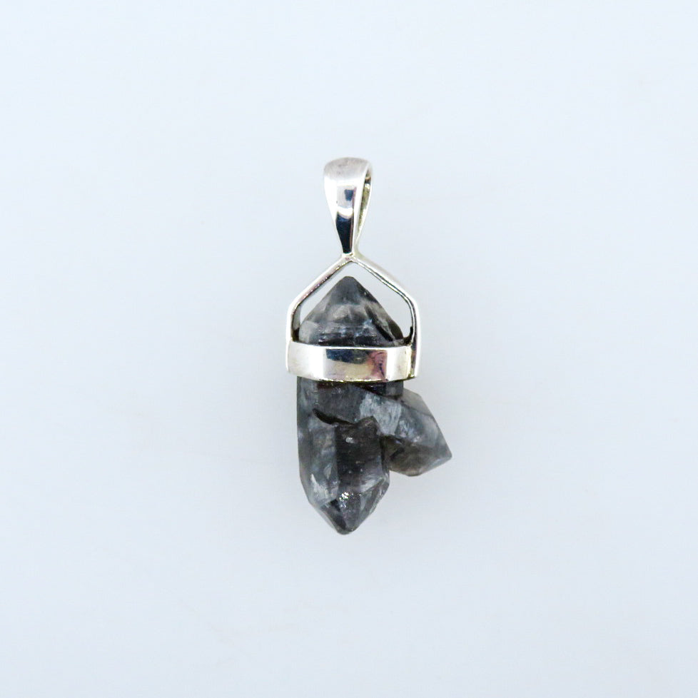 Herkimar Crystal Pendant with Sterling Silver