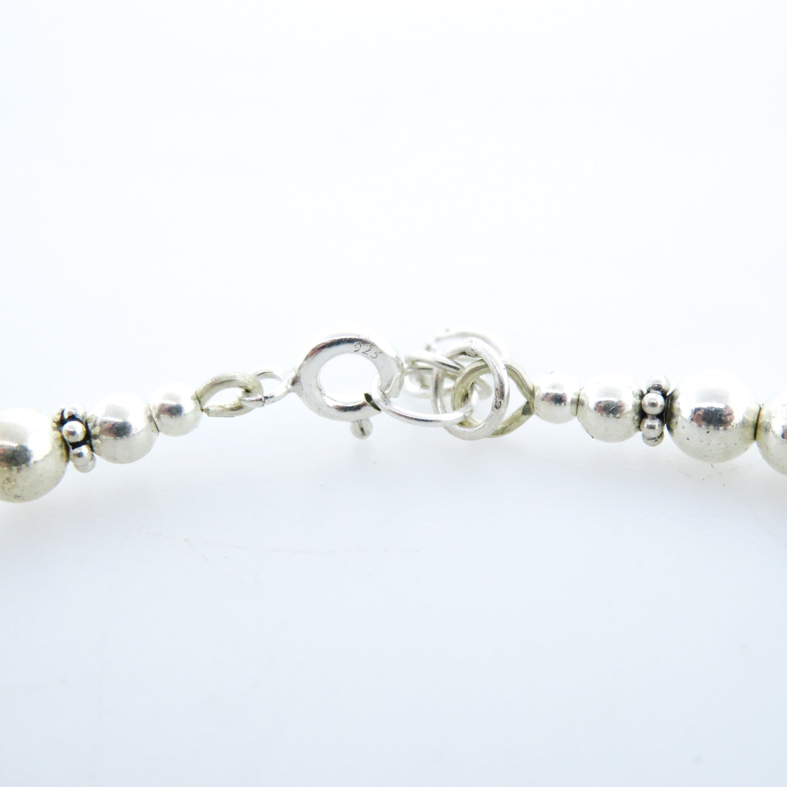 Fresh Water Pearl Bracelet with Mother of Pearl and Sterling Silver