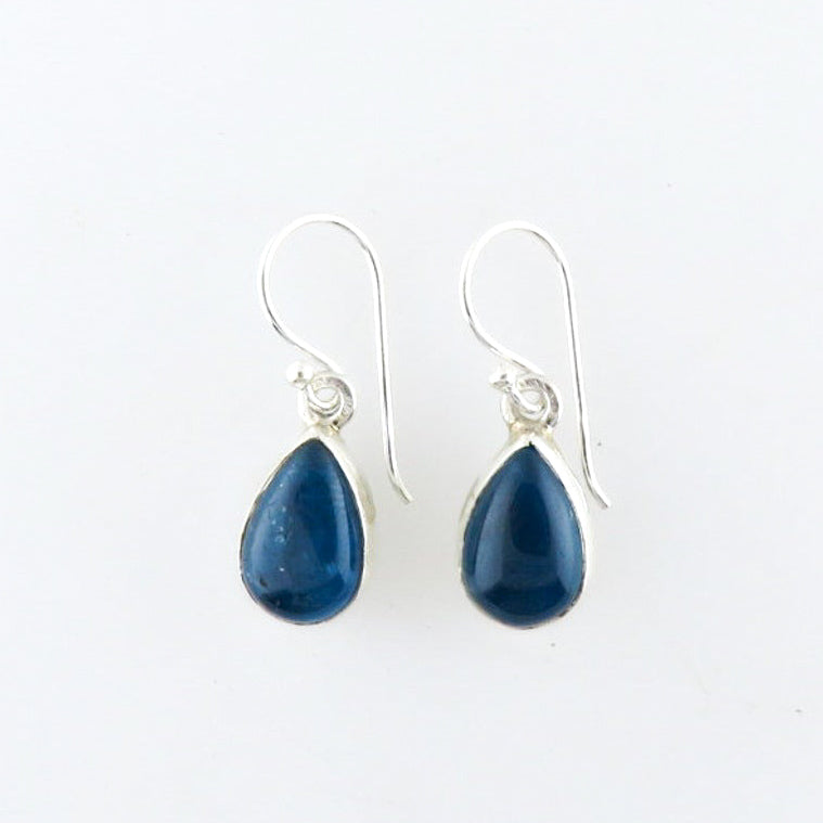 Sterling Silver Earrings with Apatite