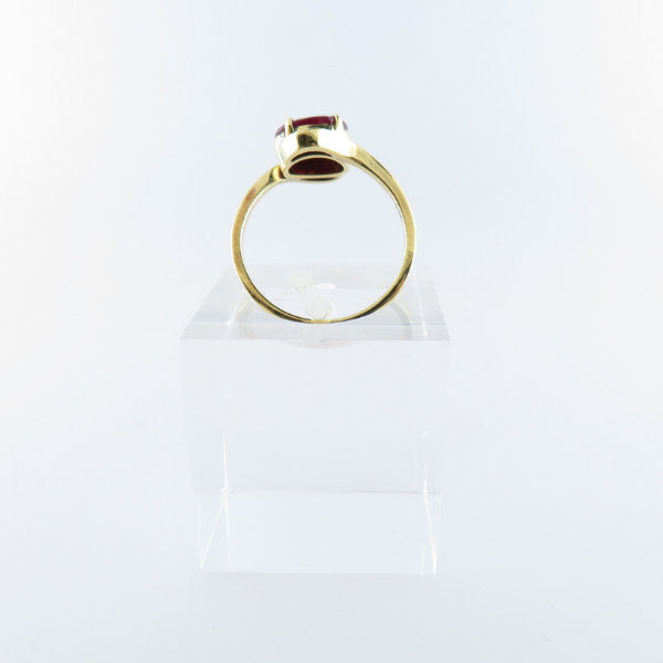 18K Gold Ring with Ruby