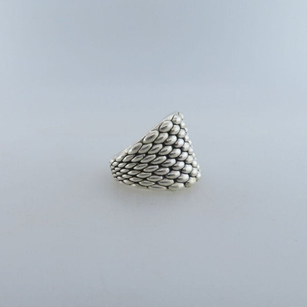 Electroformed Sterling Silver Ring