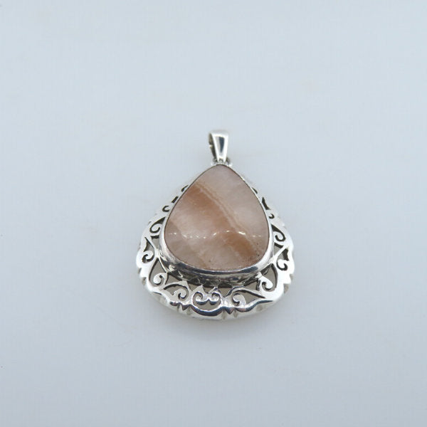 Aventurine Pendant with Sterling Silver