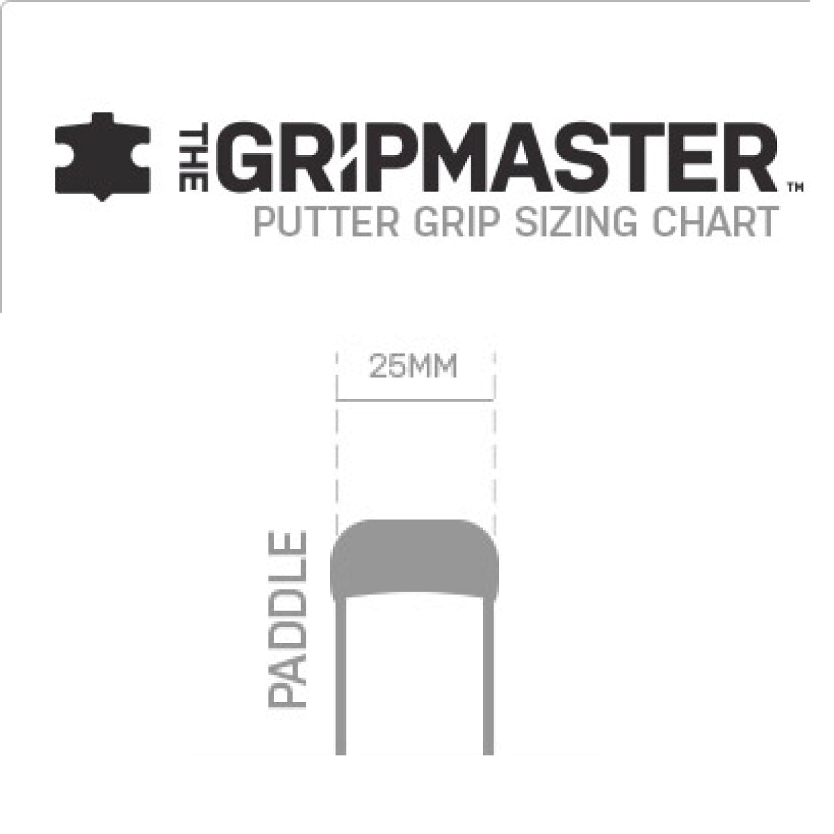 Grip Master Putter - Paddle Tour Laced
