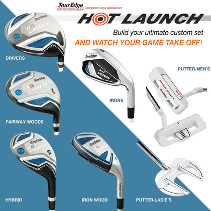 Tour Edge - Ladies Hot Launch Package Set