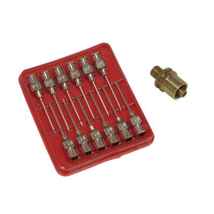 Mitchell Golf - Needle Replacements Set - 12pcs (Comes With An Adapter)