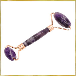 Amethyst Natural Crystal Roller