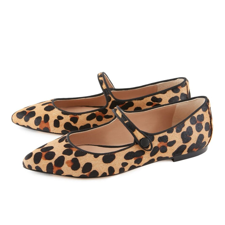 Animalier Flat Shoes
