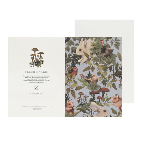 *PRE-ORDER* WOODLANDS - Baby Blue - Single Card and Envelope