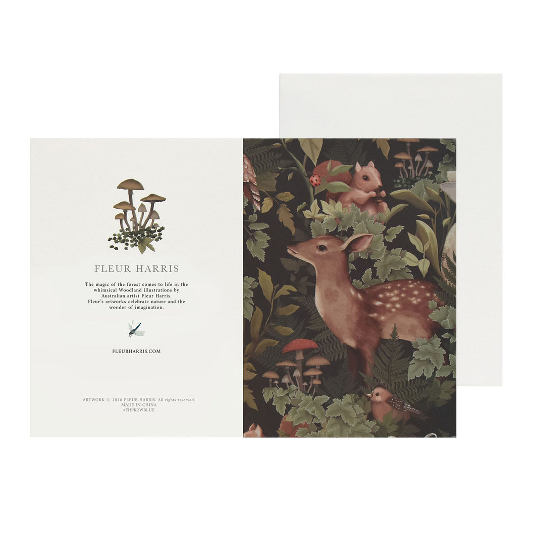 *PRE-ORDER* WOODLANDS - Charcoal - Single Card and Envelope