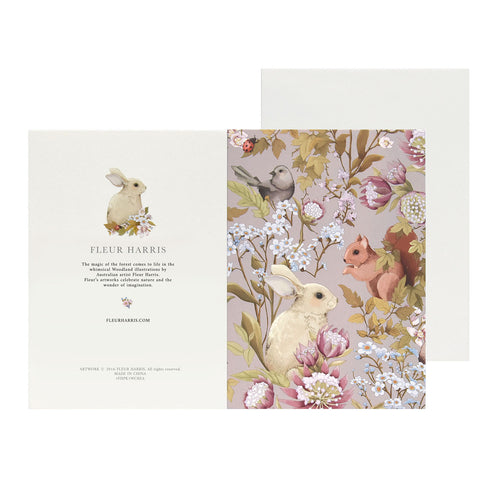 *PRE-ORDER* WOODLANDS - Lilac - Single Card and Envelope