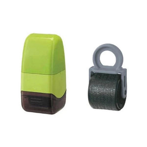 ID Identity Data Protection Guard Roller Theft Prevention Security Stamp GREEN