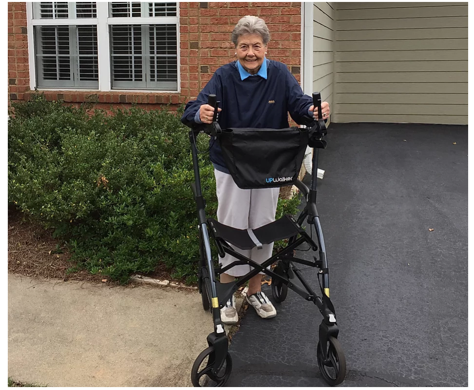UPWalker Customer Success Story: Walking Independence Restored – A Letter from an UPWalker User