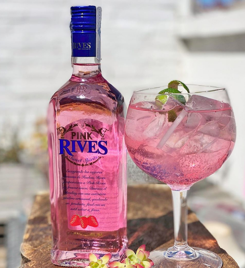 Rives Andalusien Jordbær Gin