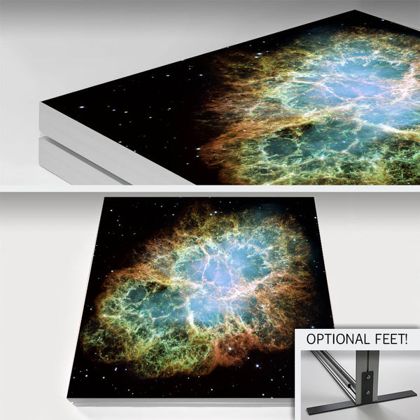 Deluxe Aluminum w/ Fabric Print with Optional Feet/Stand (Up to 20 Feet)