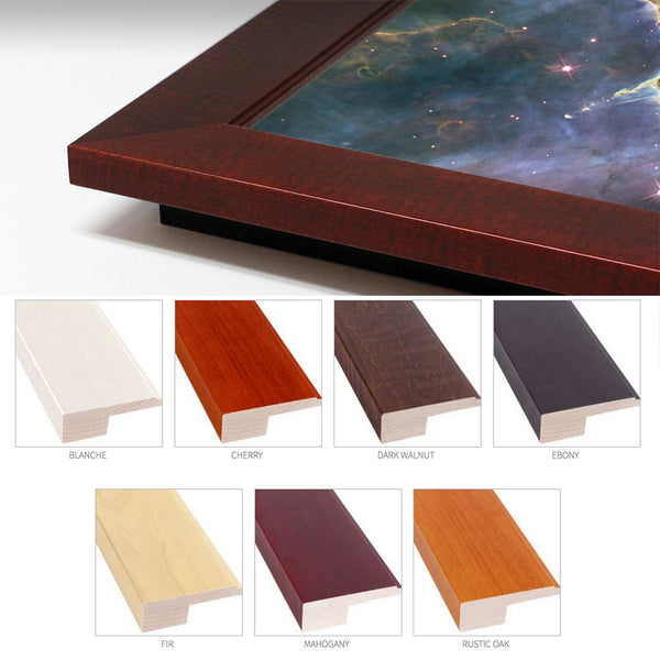 Deluxe Wood Frame (Up to 4 Feet)