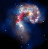 A GALACTIC SPECTACLE The Antennae Galaxies