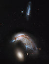 COLLIDING GALAXY PAIR ARP 142