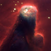 CONE NEBULA (NGC 2264) STAR-FORMING PILLAR OF GAS AND DUST