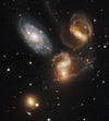 GALACTIC WRECKAGE IN STEPHAN'S QUINTET