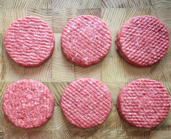 Grass Fed Beef Burger Patties 6 x 180g