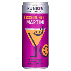 Funkin Passion Fruit Martini Cocktail Can 12 x 200ml