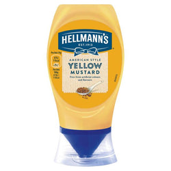 Hellmans Yellow Mustard Squeezy 260g