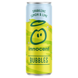 Innocent Bubbles Lemon And Lime 12 x 330ml