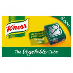 Knorr Vegetable Stock Cubes 8s