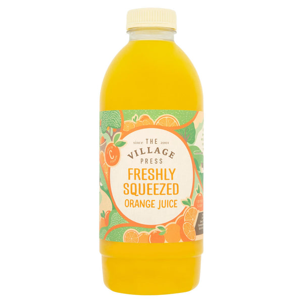 Orange Juice Fresh Village Press 1ltr