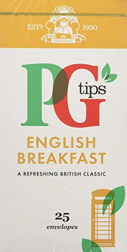 PG English Breakfast Teabags 25's