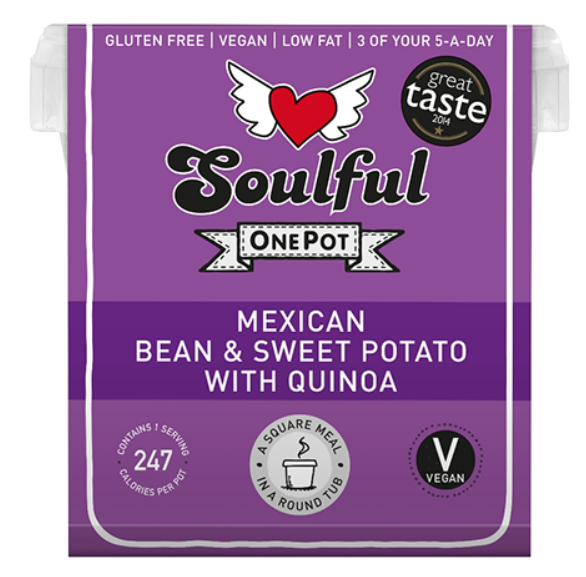 Soulful Foods Onepot Mexican Bean 380g