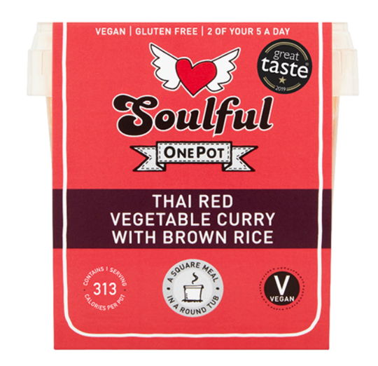 Soulful Foods Onepot Thai Red 380g
